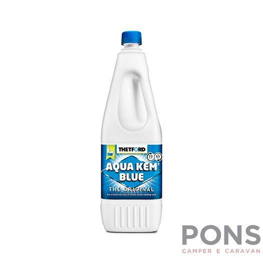 Liquido disgregante wc acqua kem blue