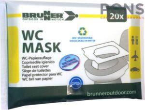 Coprisedile igienico WC Mask Brunner