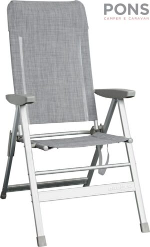 Sedia Skye - sedia pieghevole con schienale reclinabile a 6 posizionit Brunner