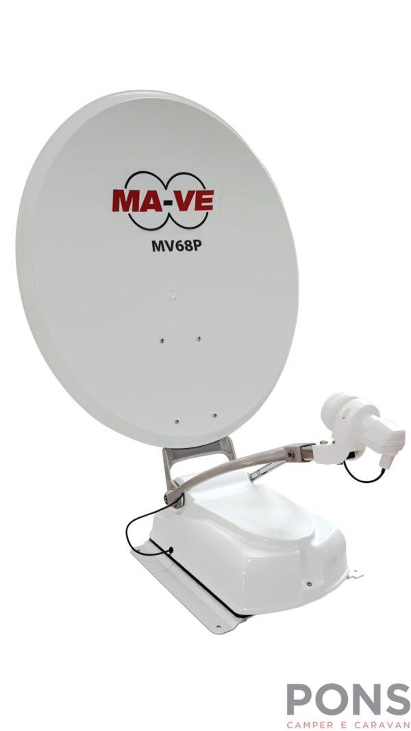 Antenna satellitare automatica Mave MV68P by Mecatronic