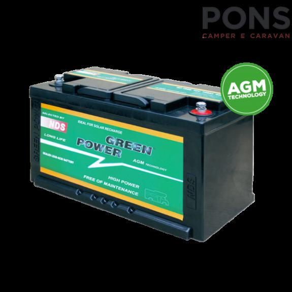 Batteria per servizi NDS Green Power GP100B