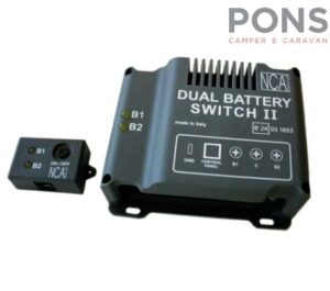 Dual Battery Gestore di due batterie dei servizi Mod. Switch II