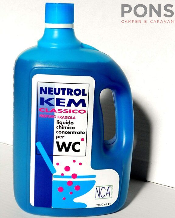 Liquido chimico disgregante 2 Lt. Mod. Neutrol Kem