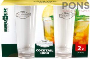 cocktail set high Brunner