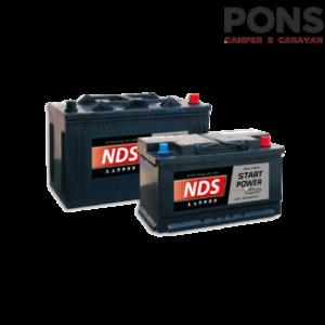 Batteria d'avviamento Start Power NDS 80 Ah