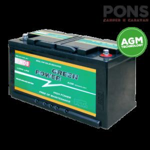 Batteria per servizi NDS Green Power GP80