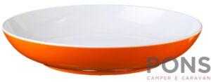 Piatto Fondo Arancione Spectrum