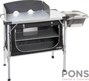 Mobiletto cucina Portafornelli Chuck Box NG