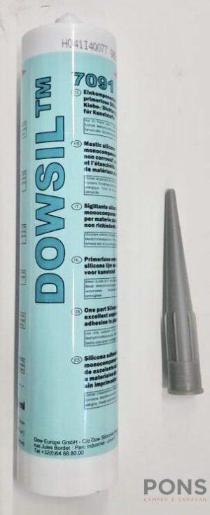 Silicone sigillante downsil grigio