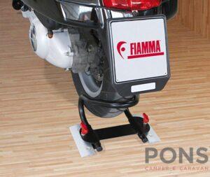 Fermo routa posteriore garage Fiamma moto wheel chock rear
