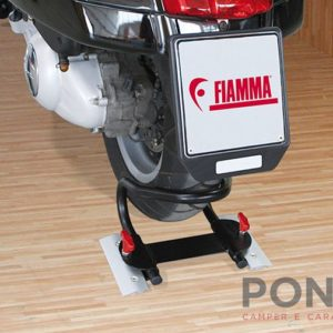 Fermo routa posteriore garage Fiamma moto wheel chock rear