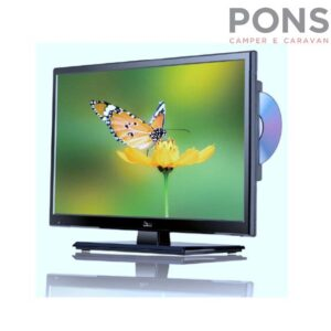 """Tv Televisore a Led per camper Mod. 19"""" MOOVE DVB-T2/DVB-S"""